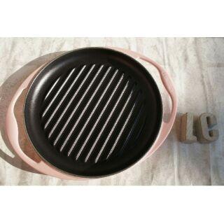 Le creuset 25雙耳斜紋煎鍋 LC 鑄鐵鍋