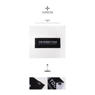 代購~BTS 防彈少年團-THE WINGS TOUR 首爾演唱會周邊 T-SHIRT  毛巾