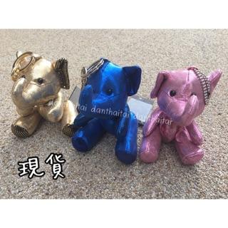 [現貨出清價] Eleph 泰國大象包購物袋 閃亮大象吊飾 // 珠鏈 鑰匙圈 扣環 娃娃 包包吊飾 掛飾 丹泰太
