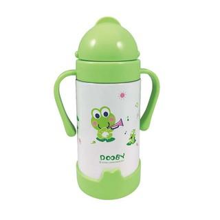 DOOBY 大眼蛙 神奇不鏽鋼保溫喝水杯 8個月以上適用 260CC D4181