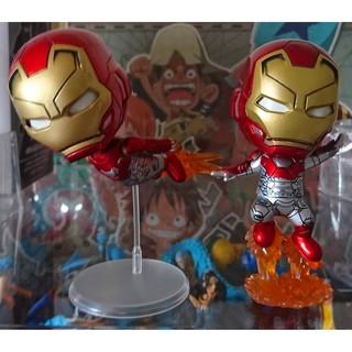 ☆海賊咖☆ 搖頭公仔 Q版 美國隊長  超級英雄 復仇者聯盟 漫威 鋼鐵人 英雄內戰 IRON MAN