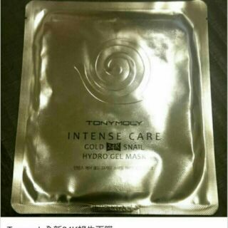 TONYMOLY 蝸牛全效修護24K純金面膜Intense Care GOLD 24K SNAIL GEL MASK