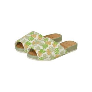 日本NITORI尼達利 拖鞋竹 夏天家居涼拖鞋日式竹子情侶涼席托鞋