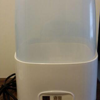 9成新奇哥奶瓶消毒鍋 蒸氣消毒鍋 微電腦全自動消毒加烘乾