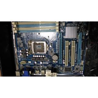 技嘉motherboard B75 主機板 GA-B75M-D3H 附檔板 高階用料5相供電