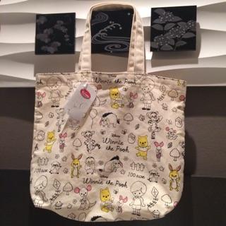 日本帶回  迪士尼手繪風帆布包