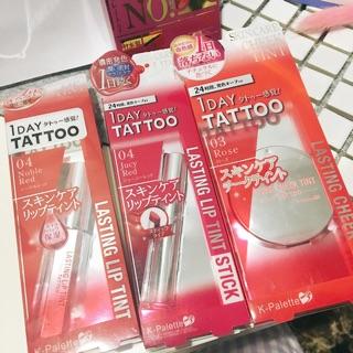 全新K palette 1 day tattoo 眼線液 唇彩 腮紅 眼影蜜 染眉膠 日本