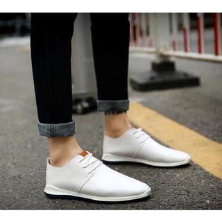 2017夏季新款布鞋白色透氣百搭潮男運動鞋男士韓版休閒皮鞋子