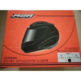 M2R安全帽M3機車 消光黑 全罩 式 防護頭盔M-3重機 黑色 好市多Costco非3/4