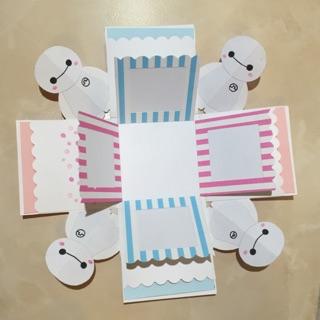 杯麵禮物盒卡片/手工卡片