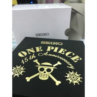 日本SEIKO 海賊王 15週年 限定錶(全新)