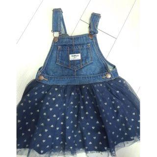 oshkosh 黑紗吊帶裙3T/ 雪花魚尾裙4T