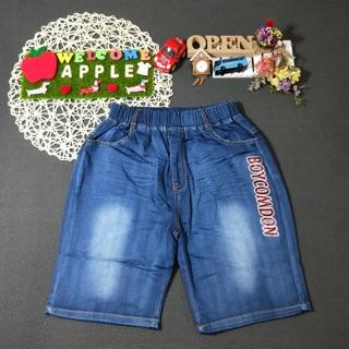 Apple童裝 英文字母牛仔褲(52041)男大童牛仔褲 男大童 大童童裝 百元童裝 平價童裝 童裝