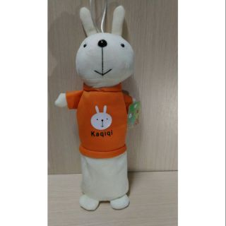 Kaqiqi 可愛兔筆袋  絨毛娃娃筆袋  文具收納