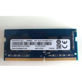 筆電記憶體 DDR4 2400 4G