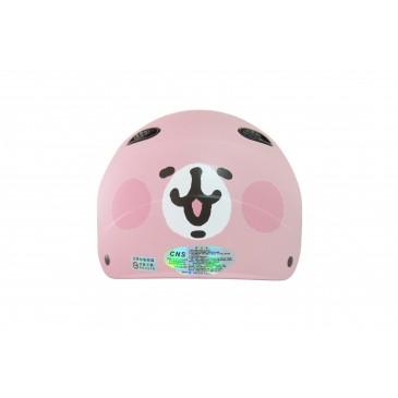 智同 卡娜希拉1 粉紅兔兔 成人雪帽 半罩式安全帽 輕便型 Kanahei USAGI 人氣LINE貼圖