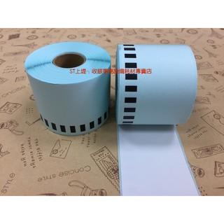 上堤┐(3卷入)Brother DK-22205連續標籤帶62mm白底黑字台製補充帶貼紙QL-1050.QL-1060N