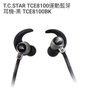 T.C.STAR TCE8100運動藍芽耳機-黑 TCE8100BK