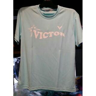 一鳴驚人   VICTOR  勝利零碼出清 團體VICTOR印花 T-Shirt T-10401U