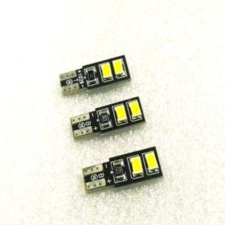 (買5送1)1顆只要$25 T10 12V 24V5730 4 SMD白光 小燈