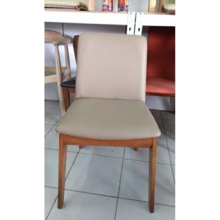 木之屋  皮餐椅 餐椅  咖啡廳用椅
