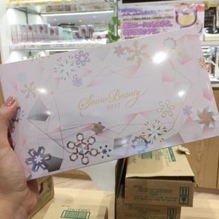 現貨❤️2017/9/21限定發售 資生堂MAQuillAGE 2017限定 snow beauty香氛魔法蜜粉