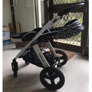 9.9成新二手嬰兒高景觀推車