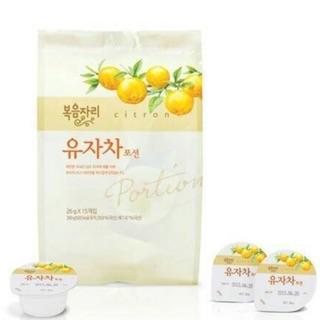 韓國鮮果園人氣柚子茶隨身包 (15顆/包)