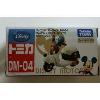 Tomica Disney 米奇警察摩托車 DM 04