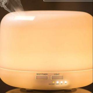 (現貨)300ml 日式暖白光水氧機 贈四精油(綠茶 雞蛋花 檸檬 甜橙)