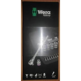 """Wera 8100 SB 8 Zyklop 3分 3/8"""" 公制 彩色 棘輪 板手 六角 起子 套筒 組套 29件"""