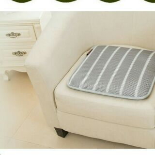 %23限時特價單人沙發墊涼蓆床墊-55*55cm【6D立體蜂巢-透氣網格 X立體-交叉型支撐】 可水洗/涼蓆/床墊/辦公