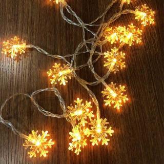 現貨 ins裝飾 led雪花燈 串裝飾串燈彩燈 節日裝飾DIY 造景閃燈氛圍燈霓虹 小夜燈