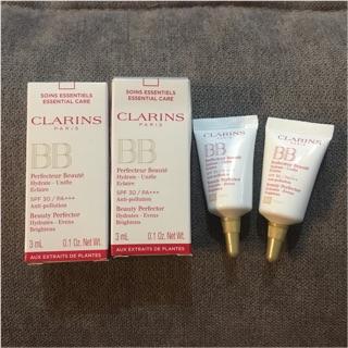 (2支一組)Clarins 克蘭詩 輕呼吸全效UV BB霜 3ml(另送別牌試用包x3包)