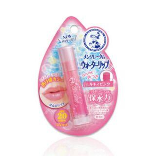日本帶回-曼秀雷敦保水力高保濕潤色防曬二合一護唇膏 SPF20 PA++(粉)