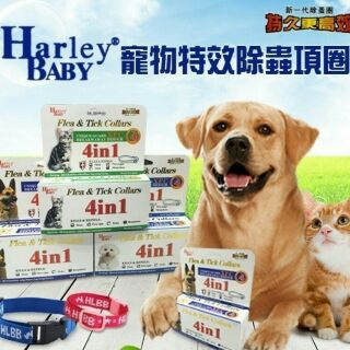W. Harley BABY 寵物特效除蚤項圈 4in 1
