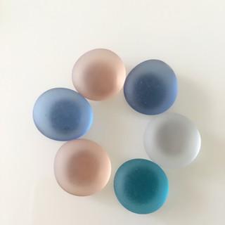 釹鐵硼超強力磁鐵 圓形直徑約 15mm 磁石10mm 造型 冰箱貼 白板磁鐵 冰箱磁鐵 磁圖釘  磨砂強磁彩石