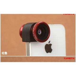 Iphone配件Iphone 7相機魚眼廣角鏡頭微距鏡頭三重