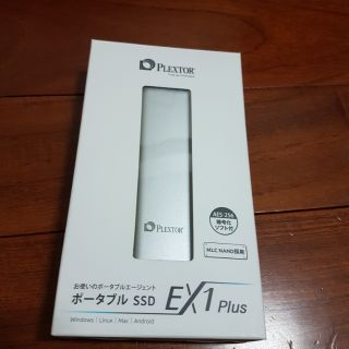 Plextor Ex1 Plus 128GB USB3.1 Type-C 外接式 SSD (MLC日本限定版)