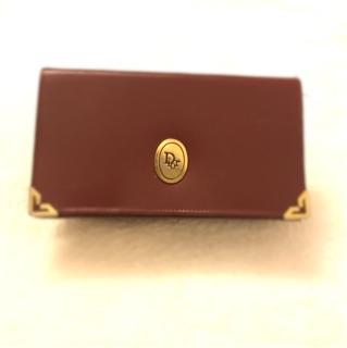 Dior酒紅古董包