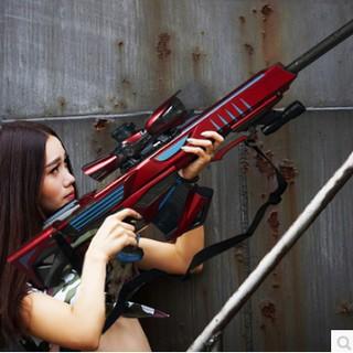 巴雷特極光水彈槍仿真狙擊搶 可發射軟子彈蛋兒童玩具3-6歲男孩BB  tw