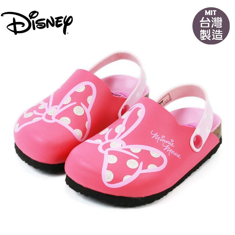 童鞋/Disney迪士尼米妮米老鼠蝴蝶結兒童涼鞋(453927)桃色16-21號
