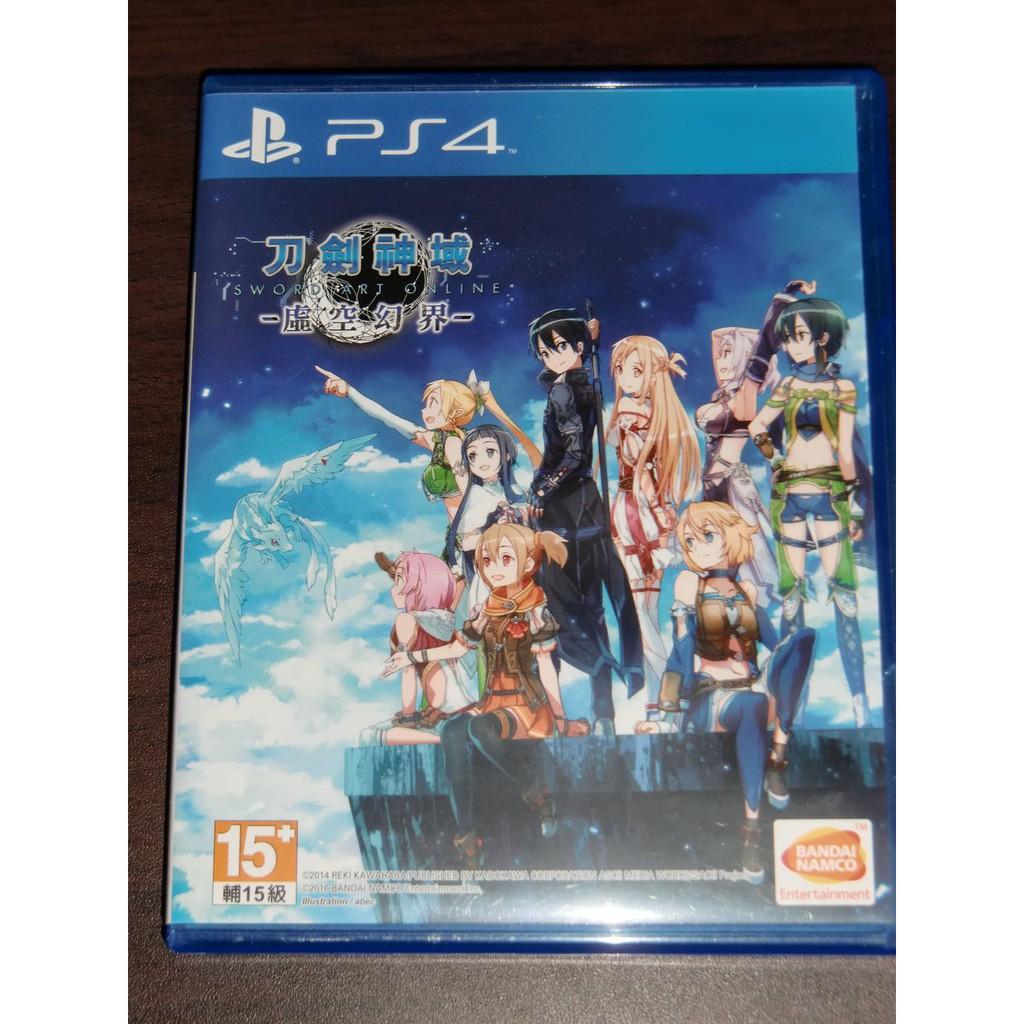 PS4 刀劍神域 虛空幻界 中文版 二手 Sword art online