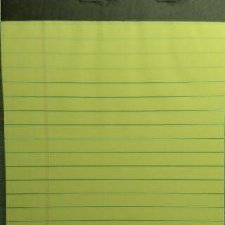 好市多costco legal pad 黃色稿紙 記事本 筆記本