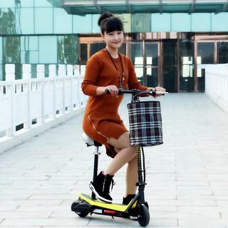 6.5吋電動滑板車折疊式電動車小型迷你電動車無刷锂電池