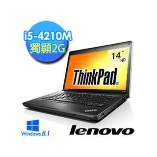 兜兜代購-【ThinkPad】E440 20C5A0APTW 14吋 i5-4210M 獨顯商務Win8.1筆電 (黑