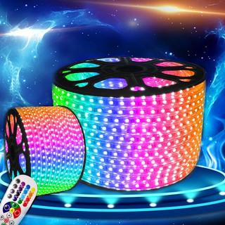 120燈LED雙排RGB燈條5050燈晶藍芽控制器附加遙控器
