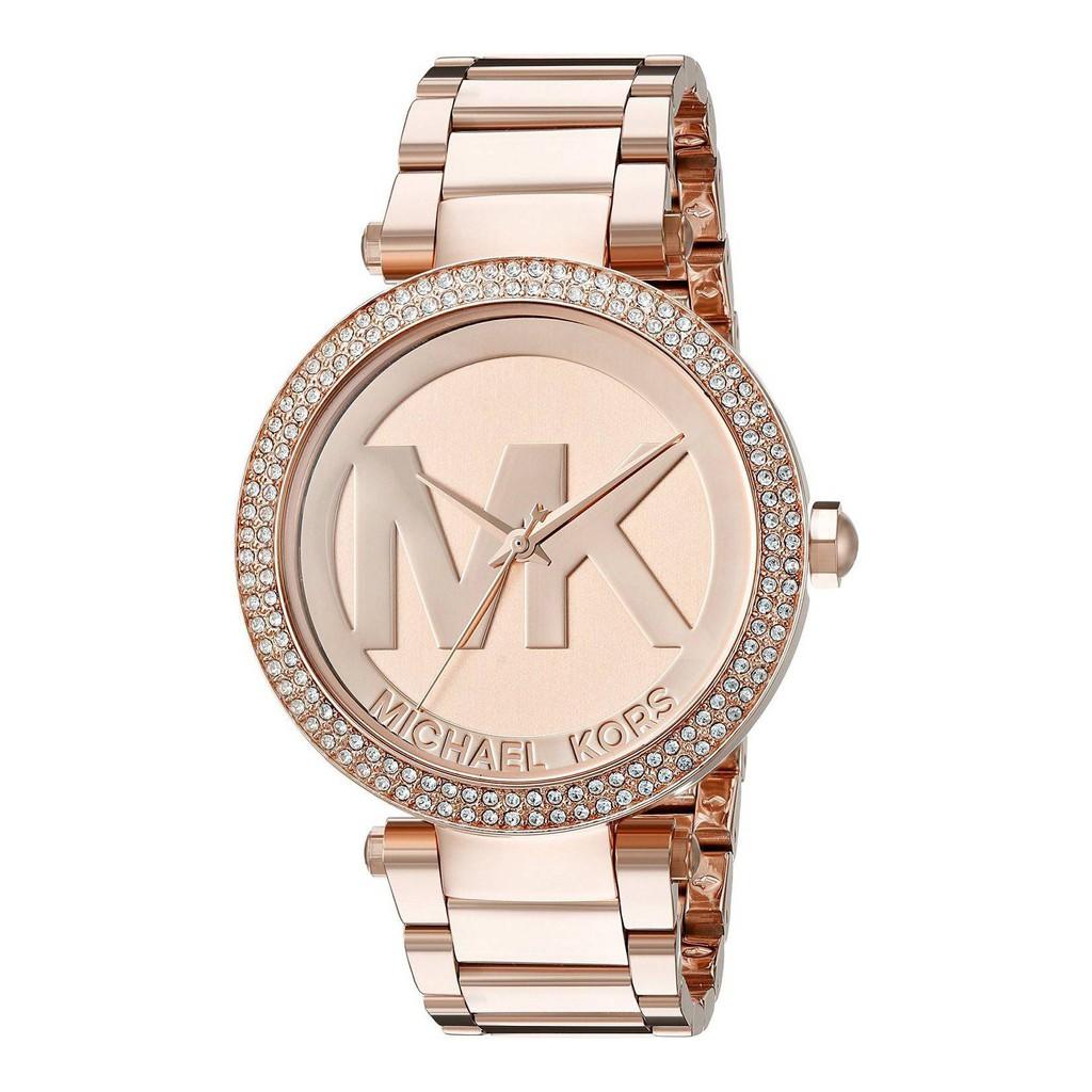 Michael Kors  玫瑰金經典LOGO手錶 MK5865【Lady Accessories】