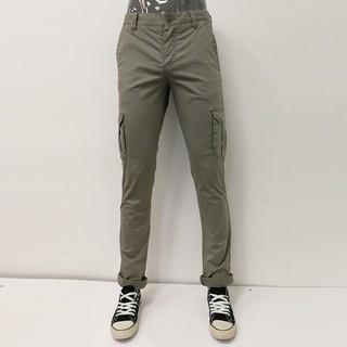 celio* 休閒時尚直筒口袋工作褲 -男款-綠色