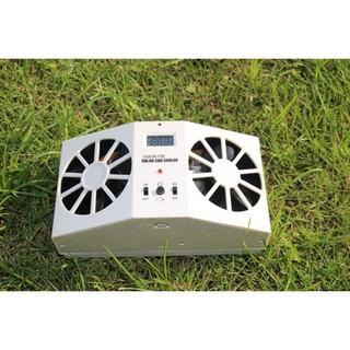 太陽能大功率 太陽能 汽車 排風扇 太陽能汽車 散熱器 雙換氣散熱風扇 2W風扇 車用風扇 夏日 排熱